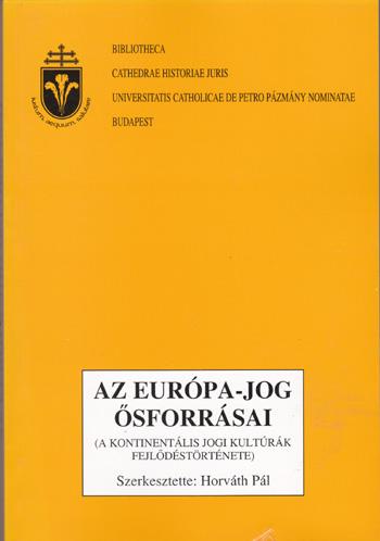 Az Európa-jog ősforrásai